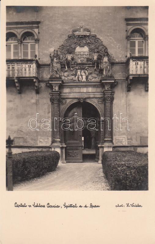 Spittal an der Drau, Portal von Schloss Porcia Spittal an der Drau, Porcia-kastély kapu