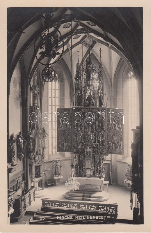Heiligenblut templombelső Heiligenblut Kirche