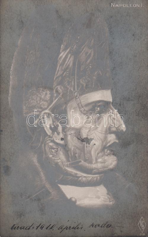 Napoleon 1, optical illsuion, Napóleon, optikai csalódás