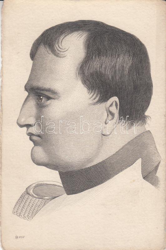 Napoleon, etching Napóleon, metszet