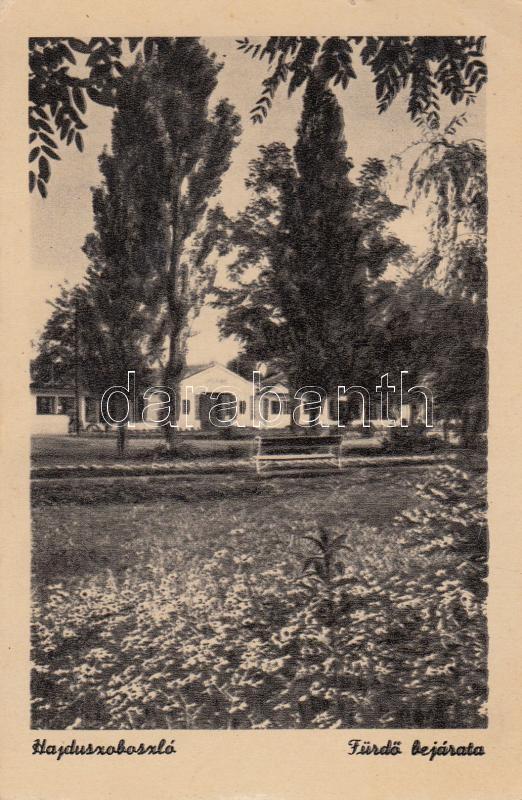 Hajdúszoboszló, entrance of the spa Hajdúszoboszló, fürdőbejárat