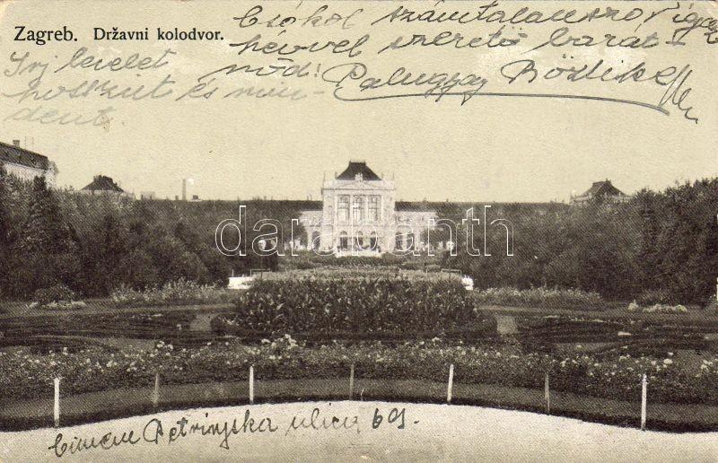 Zagreb, Drzavni kolodvor / railway station