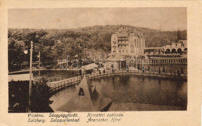 Ocna Sibiului, spa hotel, Vízakna, Sósgyógyfürdő, Kincstári szálloda