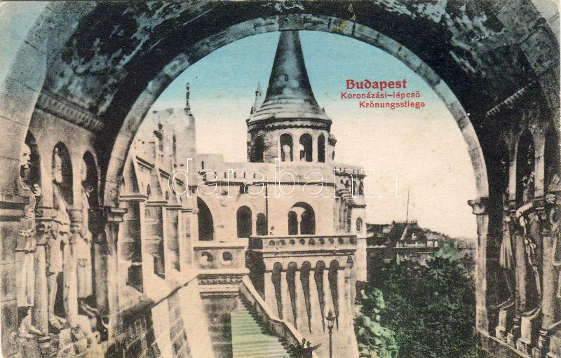 Budapest I. Koronázó lépcső