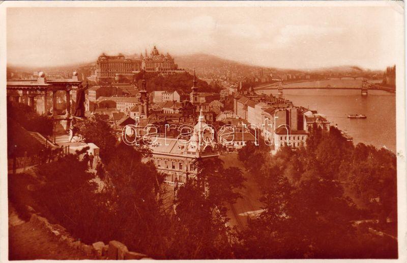 Budapest I. Gellért szobor