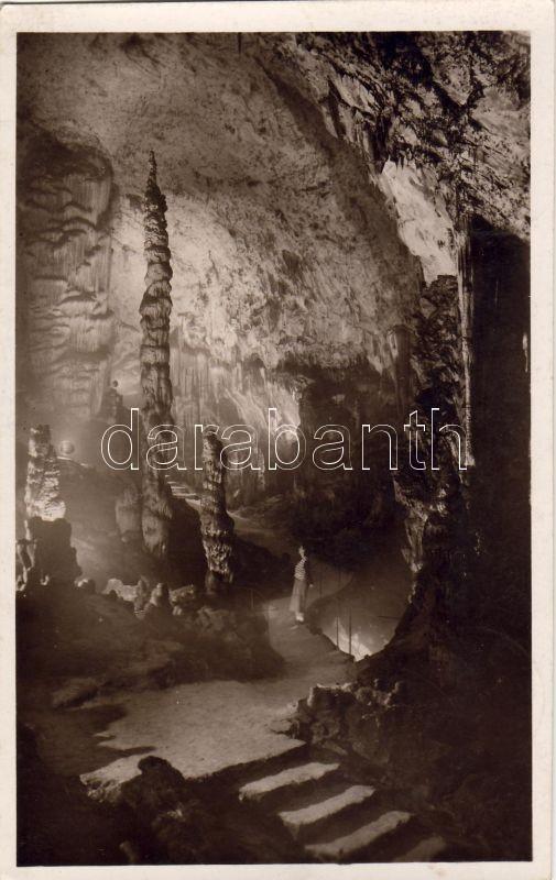 Aggtelek, cseppkőbarlang 'Tilalomfa a paradicsomban'