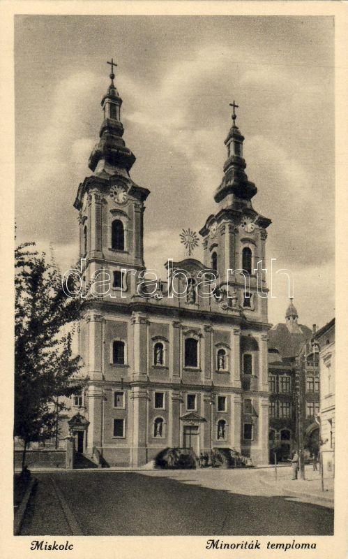 Miskolc, Minoriták temploma