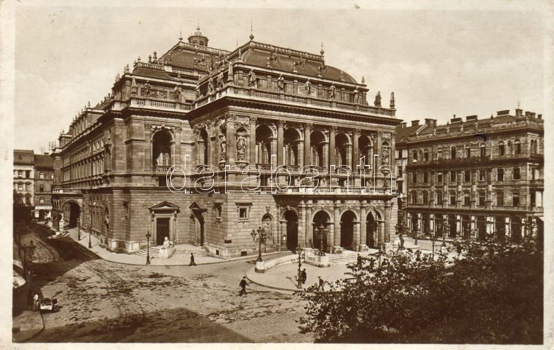 Budapest VI. Magyar királyi Operaház