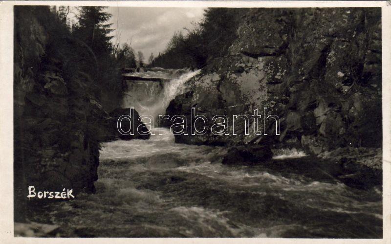 Borsec, waterfall, Borszék, Vízesés