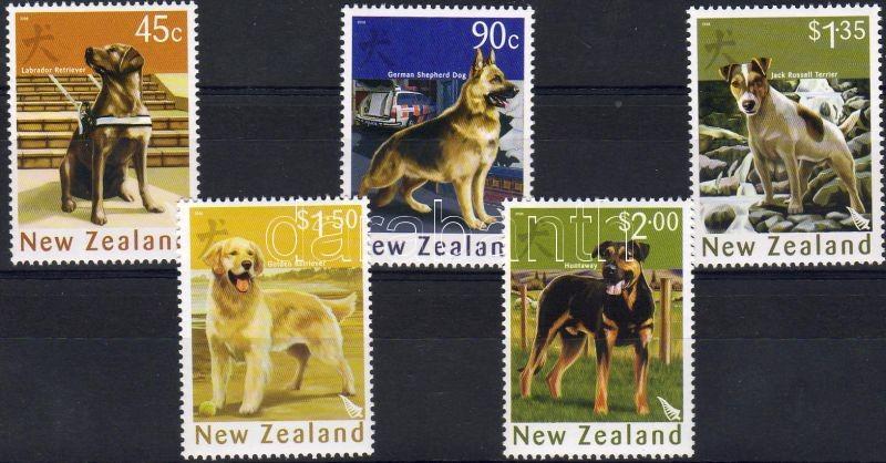Year of the dog margin set, Kutya éve ívszéli sor, Jahre dem Hunde Satz mit Rand