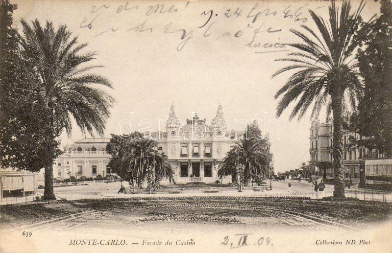 Monte Carlo, Facade du Casino