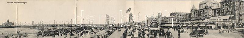 The Hague, Scheveningen panoramacard with 4 tiles
