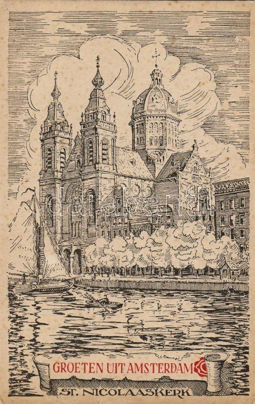 Amsterdam, St. Nicolaaskerk / church