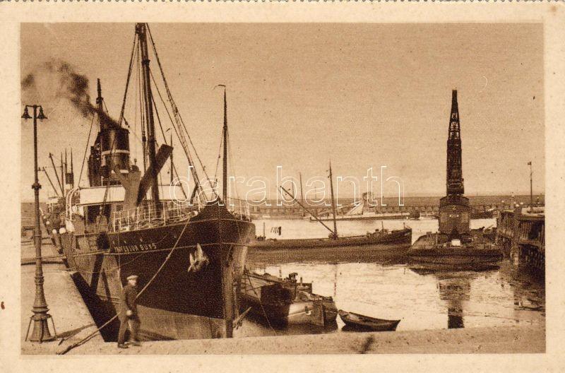 Harlingen, Haven / port, steamship