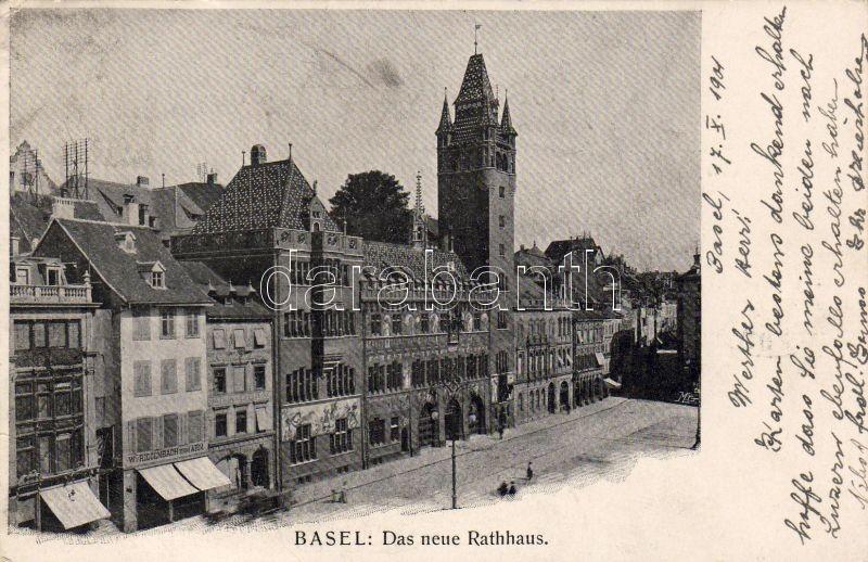 Basel, Neue Rathaus / town hall