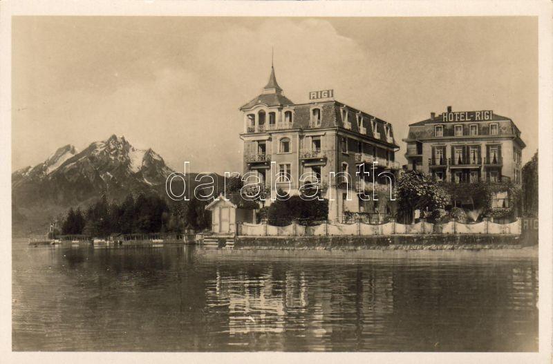 Weggis, Hotel Rigi