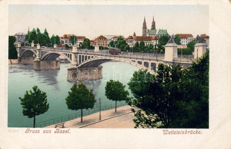 Basel, Wettsteinbrücke / bridge