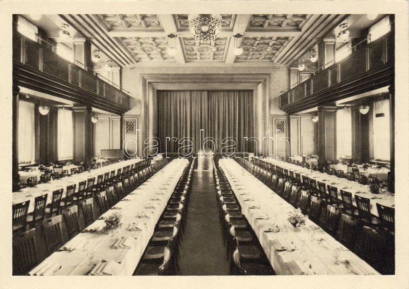 Zürich, Gesellschaftshaus zur Kaufleuten des Kaufmännischen Vereins, Theatersaal / Society House for merchants of the Association of Commercial, Theatre Hall, interior