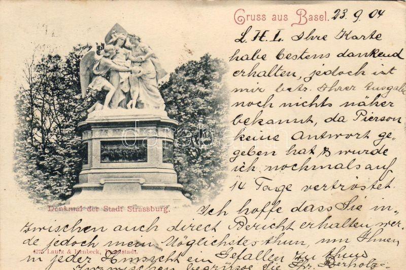 Basel, Denkmal der Stadt Strassburg