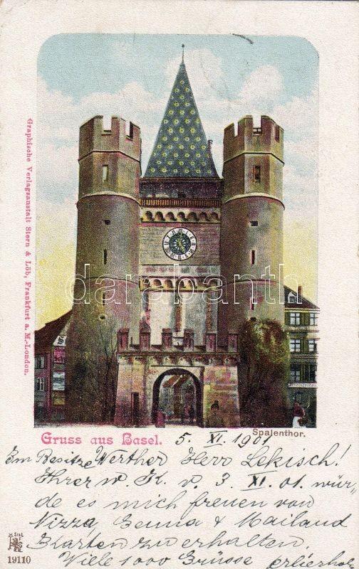 Basel, Spalenthor / gate