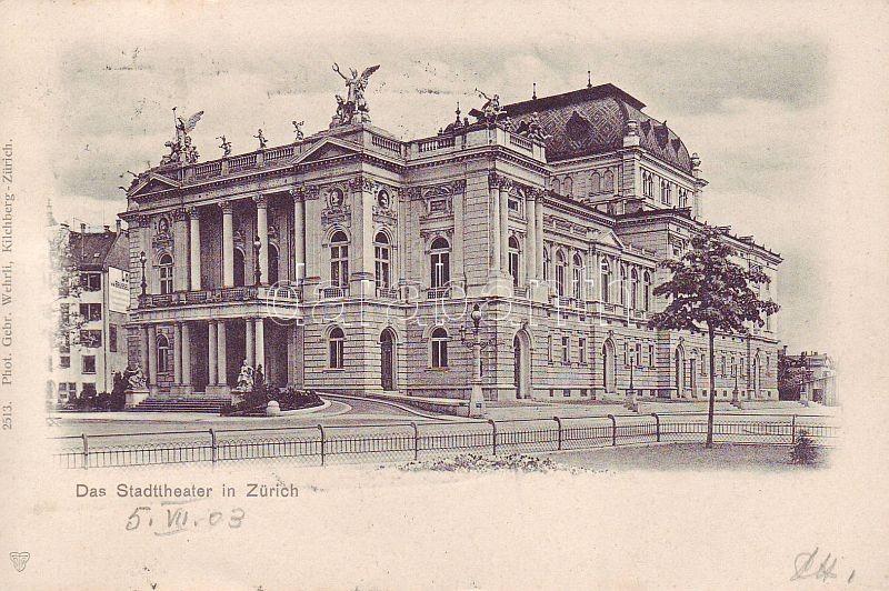 Zürich, Stadttheater / theatre