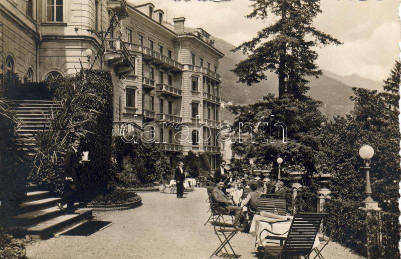 Locarno, Grand Hotel Palace, Südfront mit Terrasse