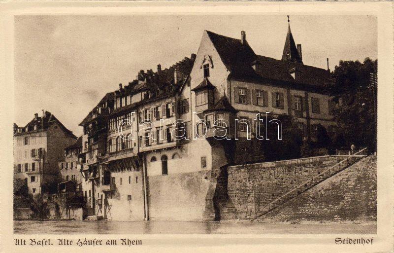 Basel, Altstadt, Alte Sausser am Rhein, Seidenhof