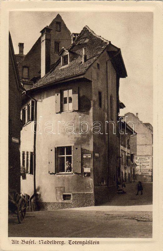 Basel, Altstadt, Nadelberg, Totengässlein / streets