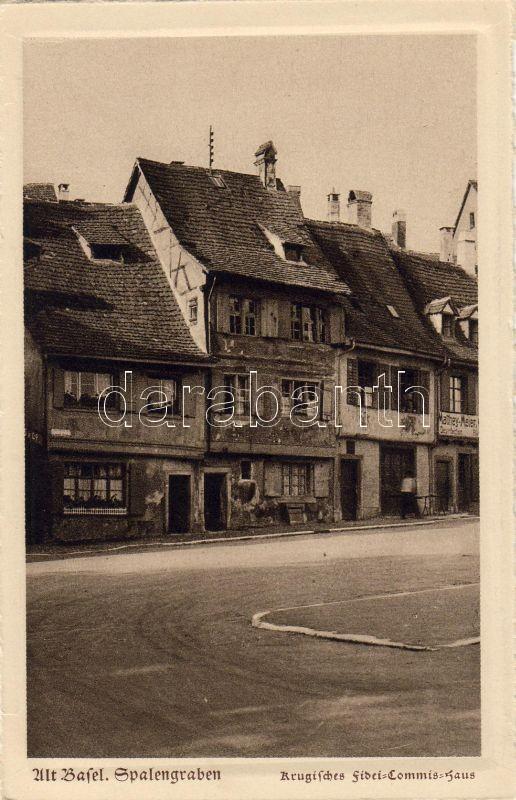 Basel, Altstadt, Spalengraben, Fidei-Commis-Haus