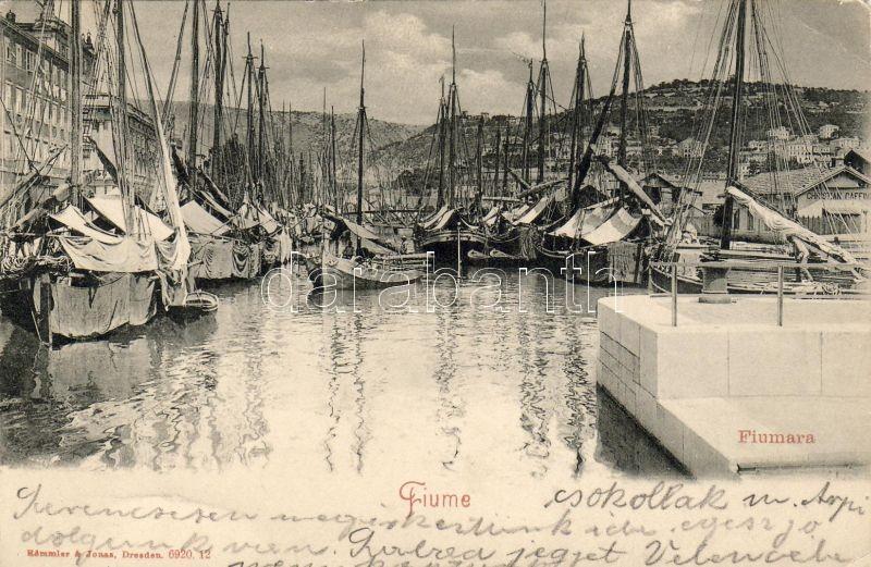 Fiume, Fiumara, ships