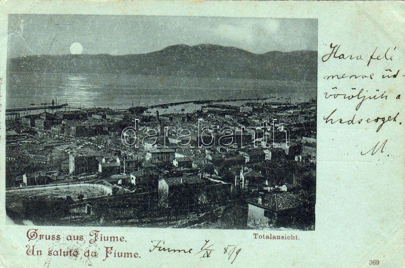 1899 Fiume, night