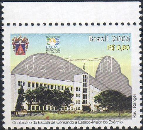 100th anniversary of ECEME margin stamp, 100 éves az ECEME ívszéli bélyeg, 100 Jahre ECEME Marke mit Rand