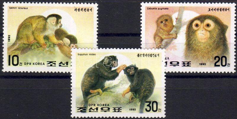 Monkeys set, Majmok sor, Affen Satz