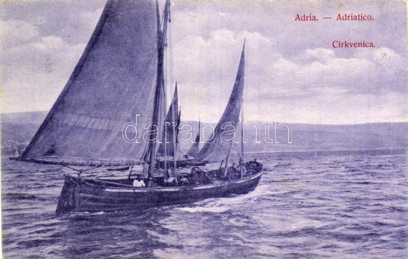 Crikvenica, sailing ship