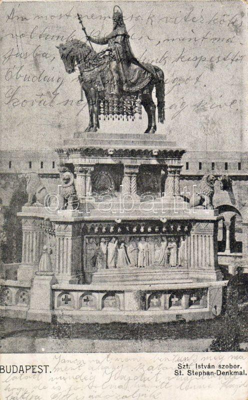 Budapest I. Szent István szobor
