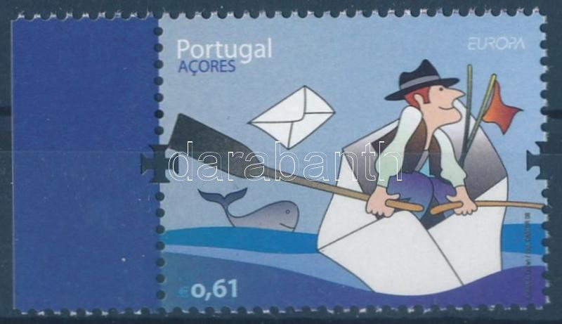 Europa CEPT the letter margin stamp, Europa CEPT a levél ívszéli bélyeg, Europa CEPT Der Brief Marke mit Rand