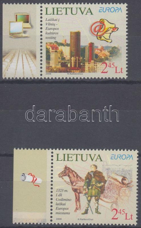 Europa CEPT the letter margin set, Europa CEPT a levél ívszéli sor, Europa CEPT Der Brief Satz mit Rand