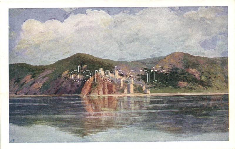 Galambóc, várrom, Golubac, castle ruins