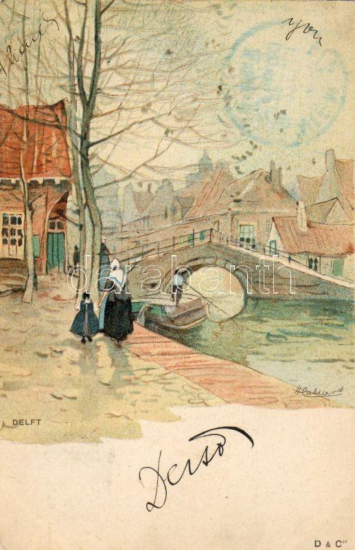 Delft litho s: H. Cassiers