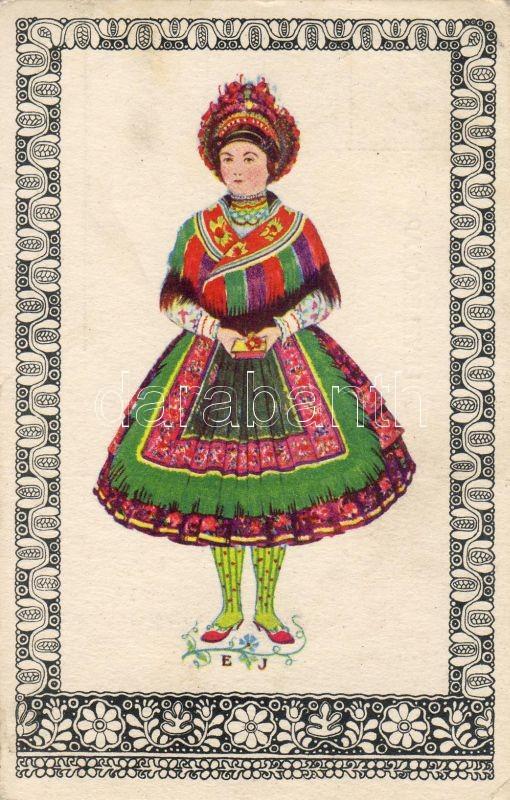 Hungarian folklore from Sárköz s: vitéz Erdős János, Magyar folklór Sárközből, Klösz György és fia s: vitéz Erdős János