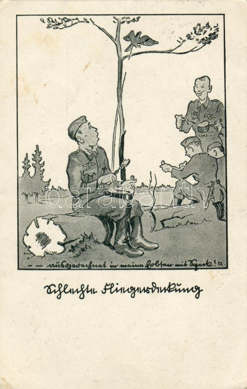 Soldiers, camp, lunch, Katonák, tábor, ebéd