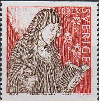700th birth anniversary of Saint Brigitte, 700 éve született Szent Brigitta, 700. Geburtstag der hl. Brigitta