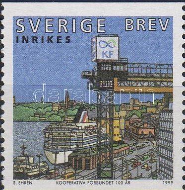 100th anniversary of the swedish Consumer League, 100 éves a svéd Fogyasztási Szövetkezet, 100 Jahre Verband der schwedisches Konsumgenossenschaften