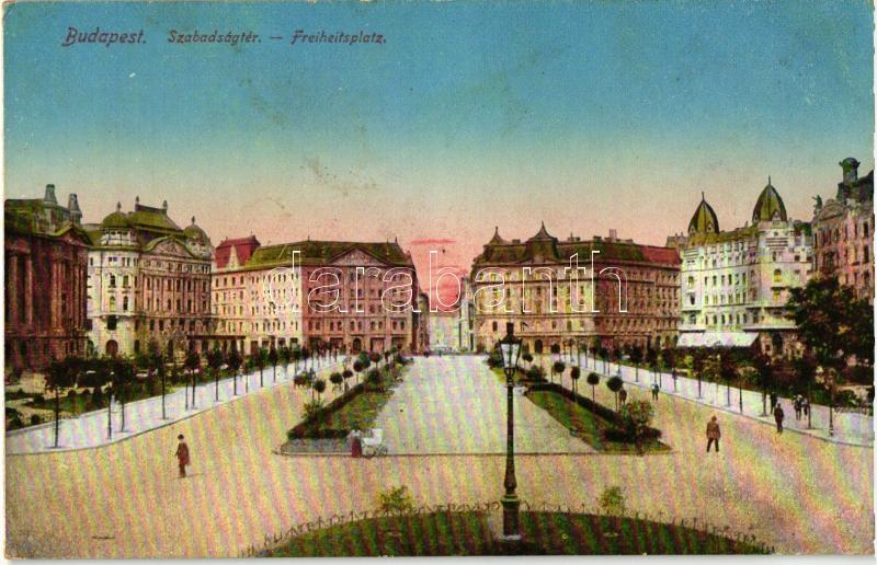 Budapest V. Szabadság tér