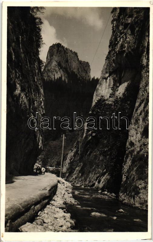 Bicaz Canyon, Lacul Rosu / lake, Békás-szoros, Gyilkos-tó