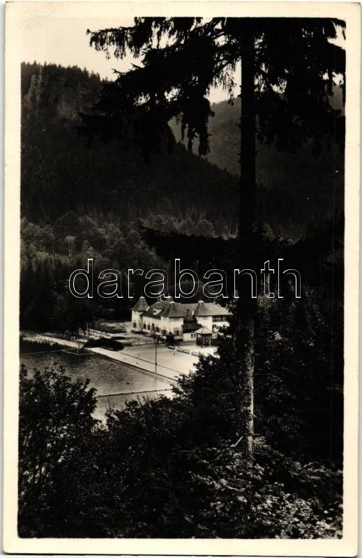 Tusnádfürdő, Csukás tó, Baile Tusnad, lake
