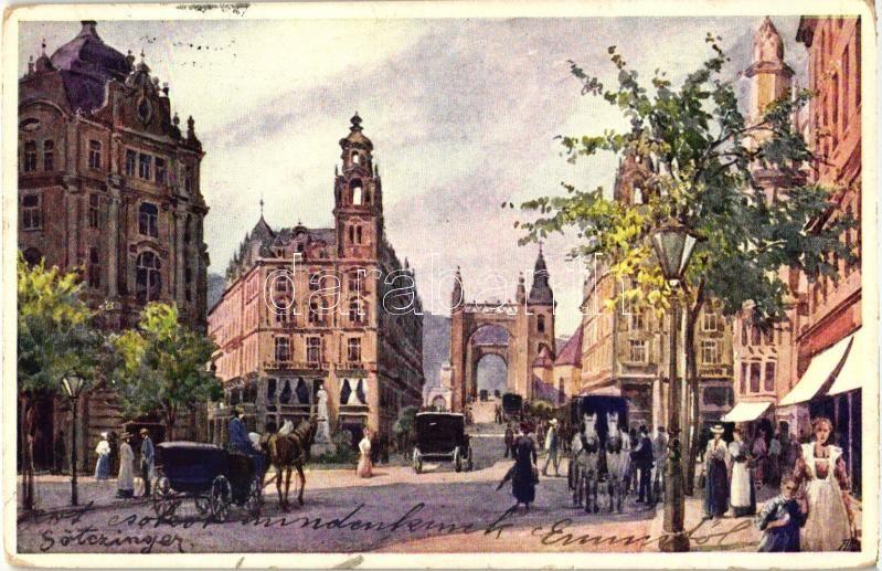 Budapest V. Kígyó tér, Klotild-paloták, B.K.W.I. S. 280/10. s: Götzinger
