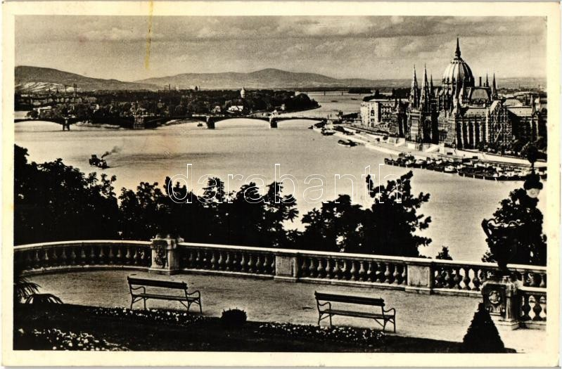 Budapest, Kilátás a királyi várból