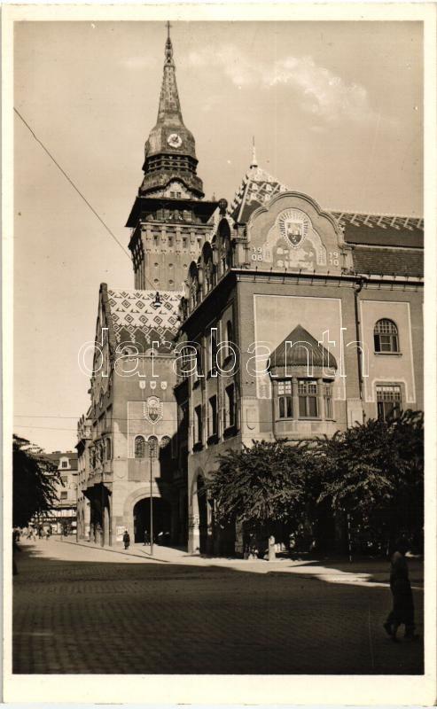 Subotica, Town hall, Szabadka, Városháza