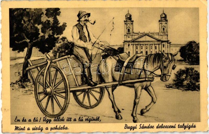 Debrecen, Bugyi Sándor talyigás